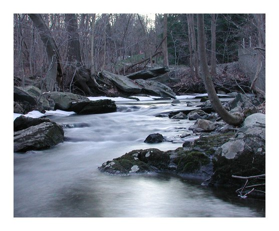 4 Second Exposure of a Stream