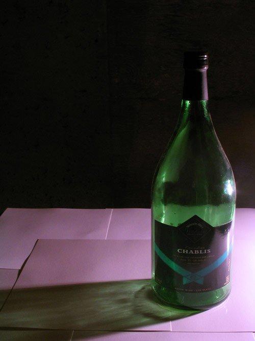 Still Life: Wine Bottle