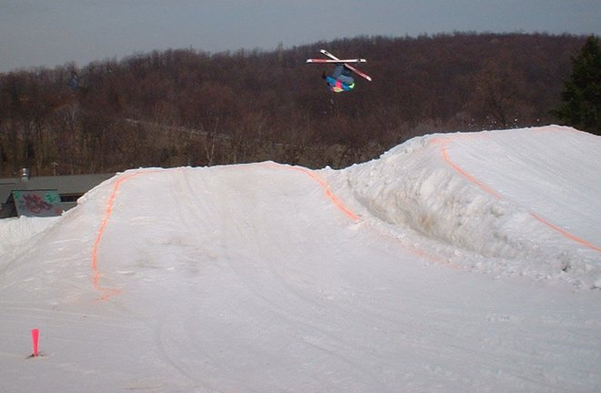Mikey going huge at the RGames