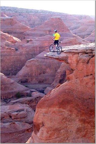 Mountain Biking in Moab...CRAZY!