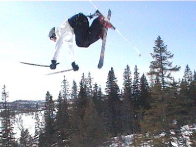 skydiving or..... backflip