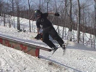 funny pick of me fallin off a rail