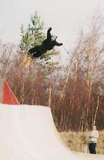 medium sized hit in the pipe- snowflex