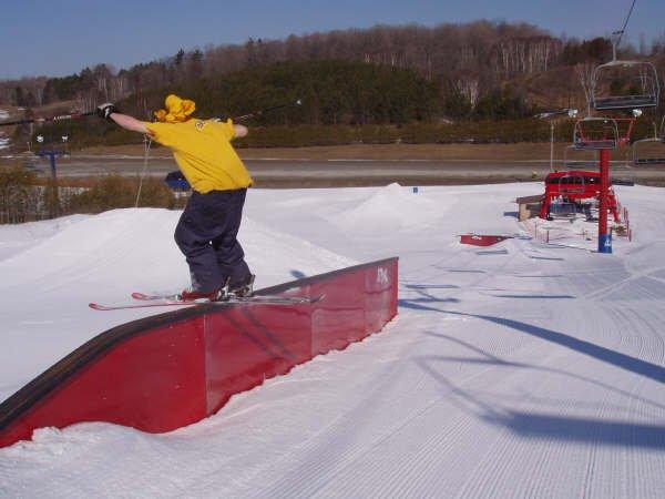 sexy rail slide