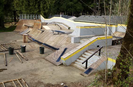 Bmx/ skateboard park at windell's