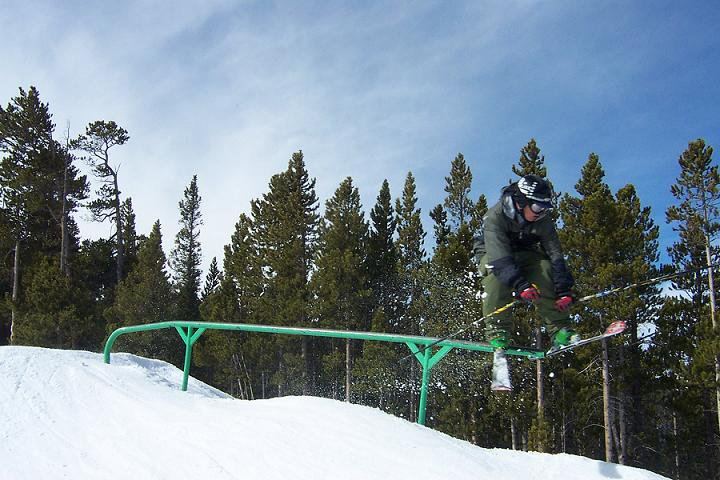 fun rail at keystone