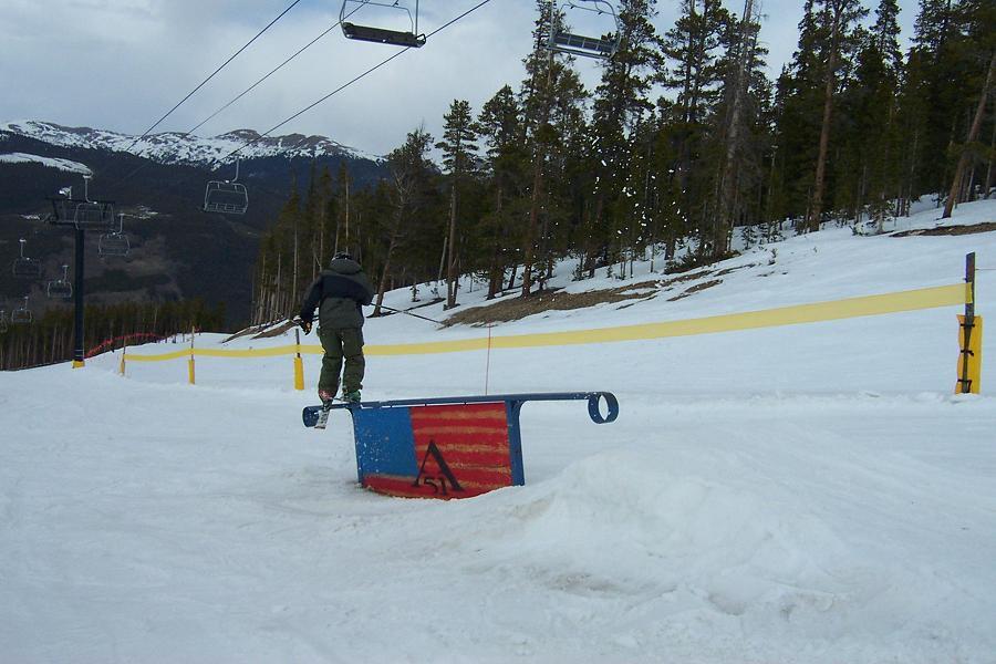 flag rail