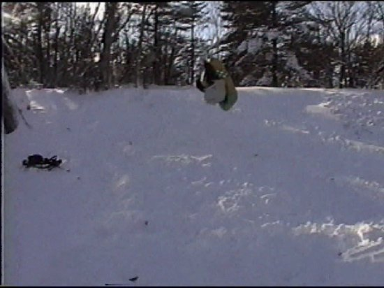 Crazy Backflip on tube