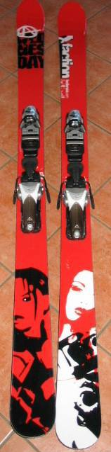 my new skis - mmmmmmmm