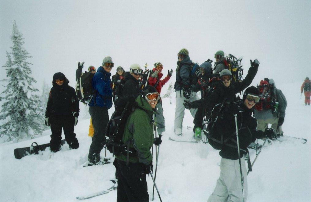 AT Crew at Kootenay Pass