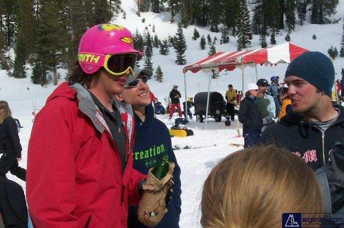 Matt Niederhauser's 2007 SMITH Promodel Helmet/Goggle combo... respect the steeze yo //