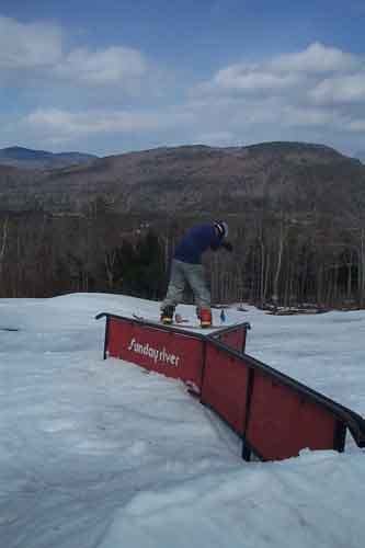 Evan on Y rail straight
