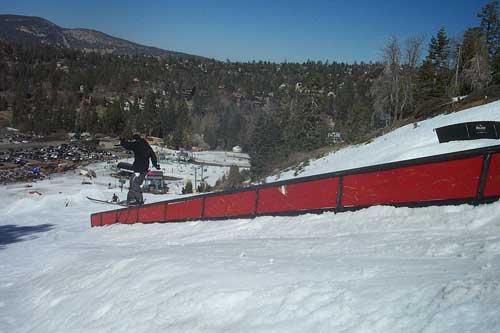 50ft downhill handrail