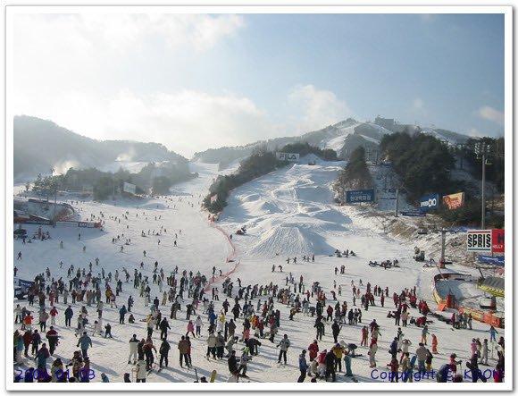 Terrain park in Korea