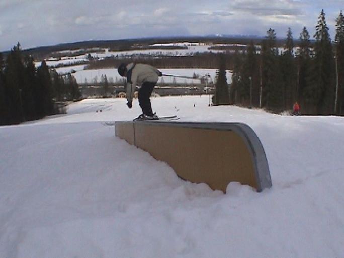 20 feet flat rail
