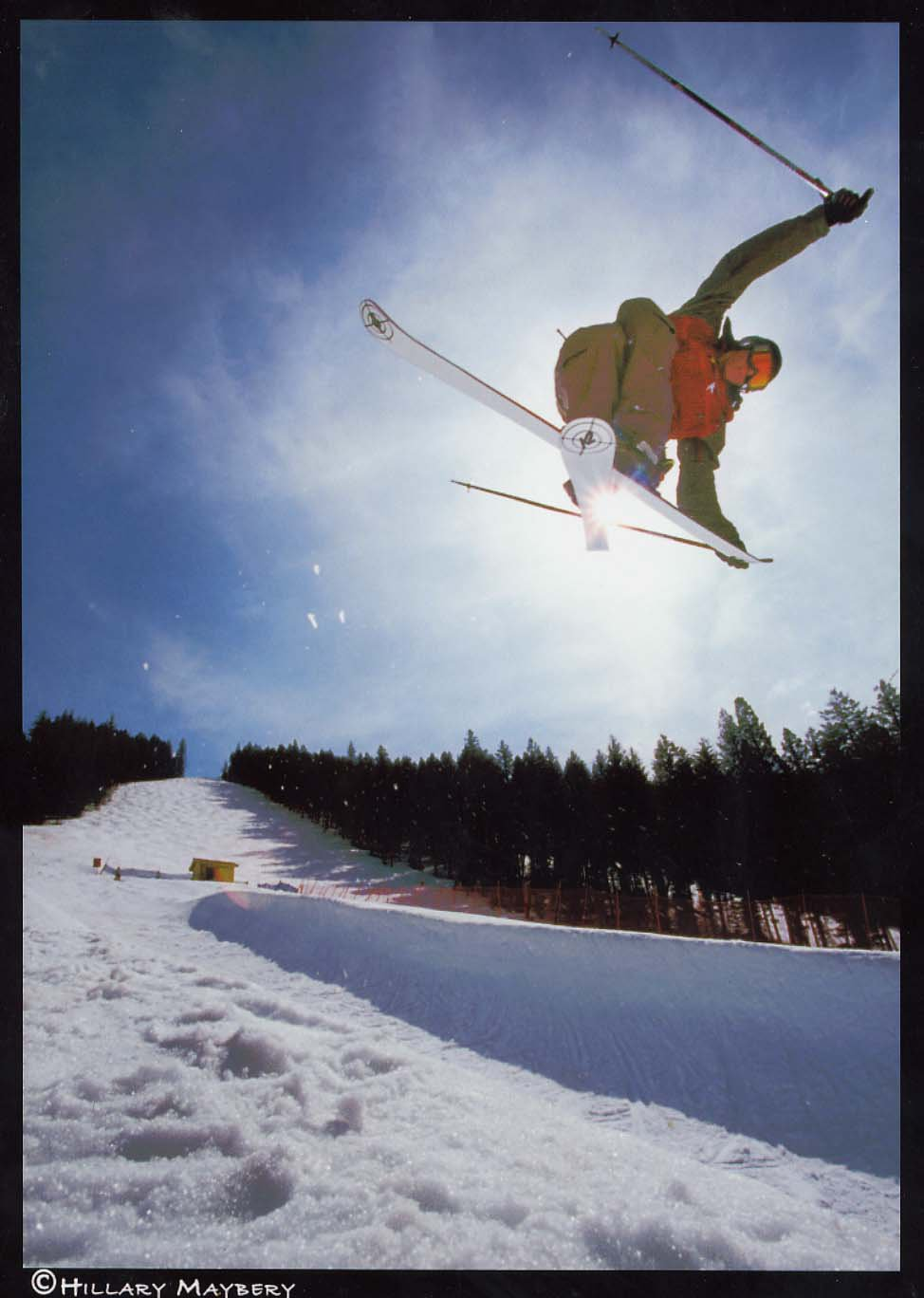 Veddy sexy pic of a tweaked tail grab, K2 anyone?....