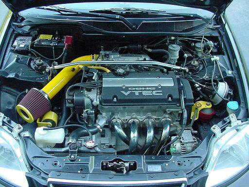 picture of h22 powered civic