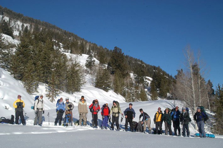 backcountry...group pic