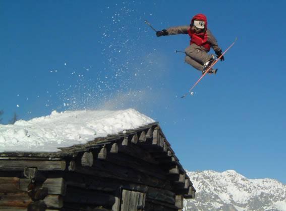 A Norwegian kicks ass in the Alps