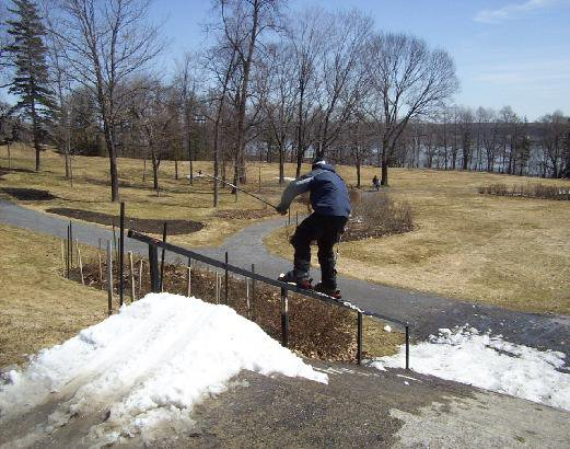 spring handrail
