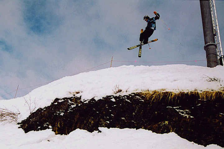 logan skiing