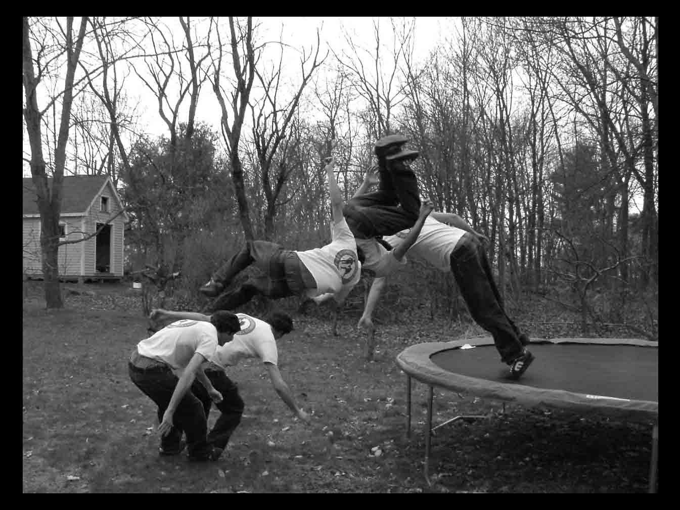 Misty 5 seq of trampoline