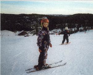 me on ski at age 6