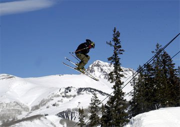 Dope 360 With Sick Mountain in Background