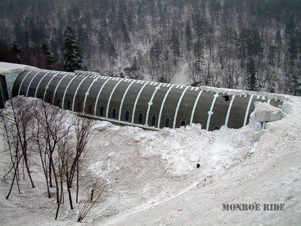 tunnel quarter pipe