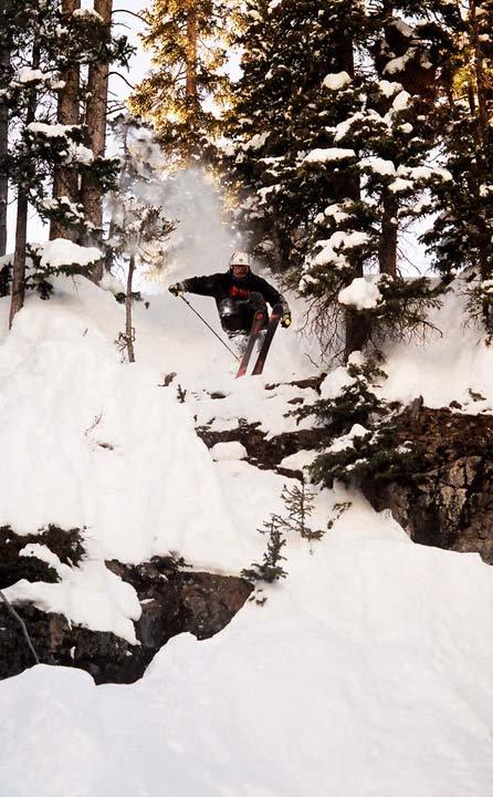 Picture: Sick cliff drop