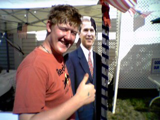 iam smashed to meet george bush!