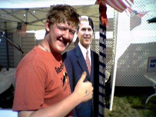 iam smashed to meet george bush!