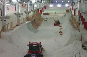 Indoor Halfpipe