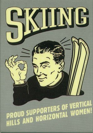 Proud to be a skier
