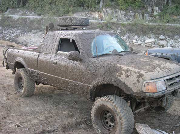 good times in the mud