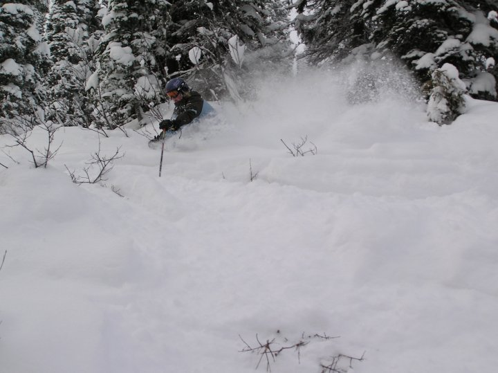 powder day at Fernie