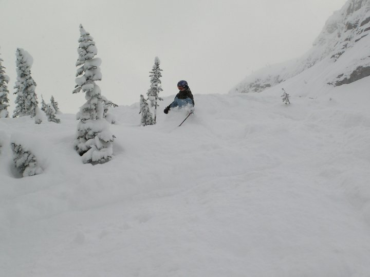 another powder day at fernie