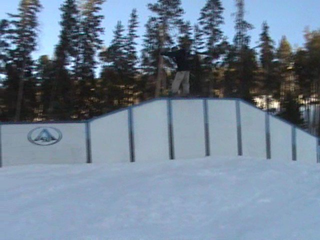 double trapezoid rail, 1 of the first people to try it