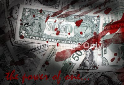 Blood Money...