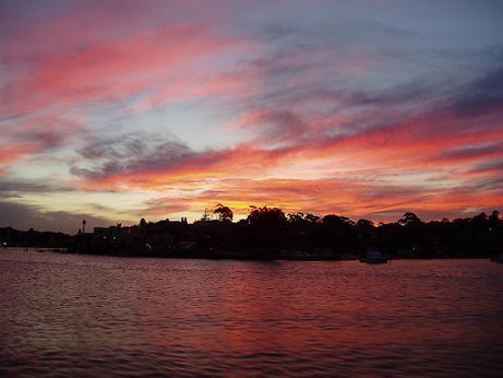 Sunset in Sydney