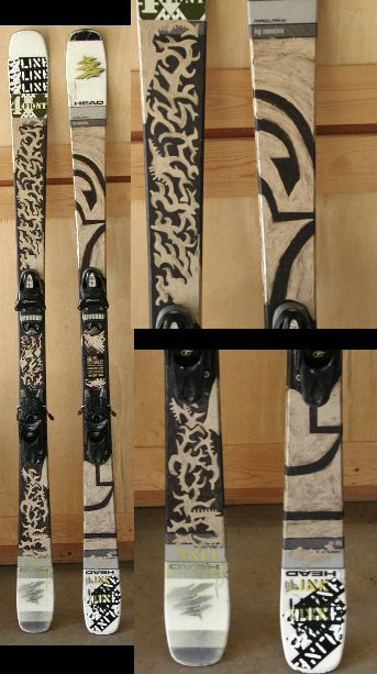 super-duper awesome skis
