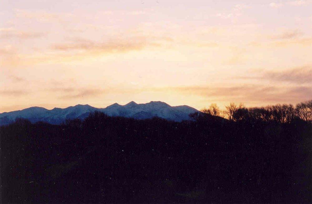Picture: beautiful sunrise over Mt. Blanca