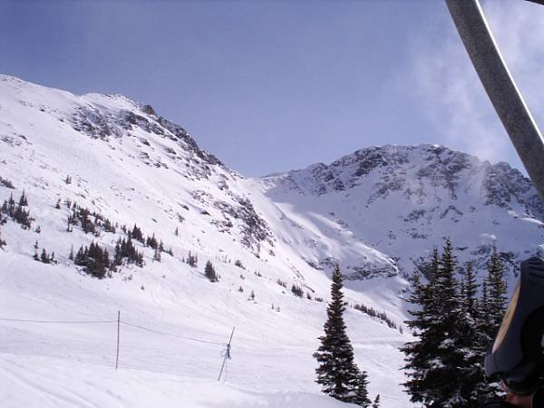Blackcomb Peak and Lakeside Bowl