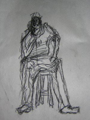 figure drawing I did... not too good