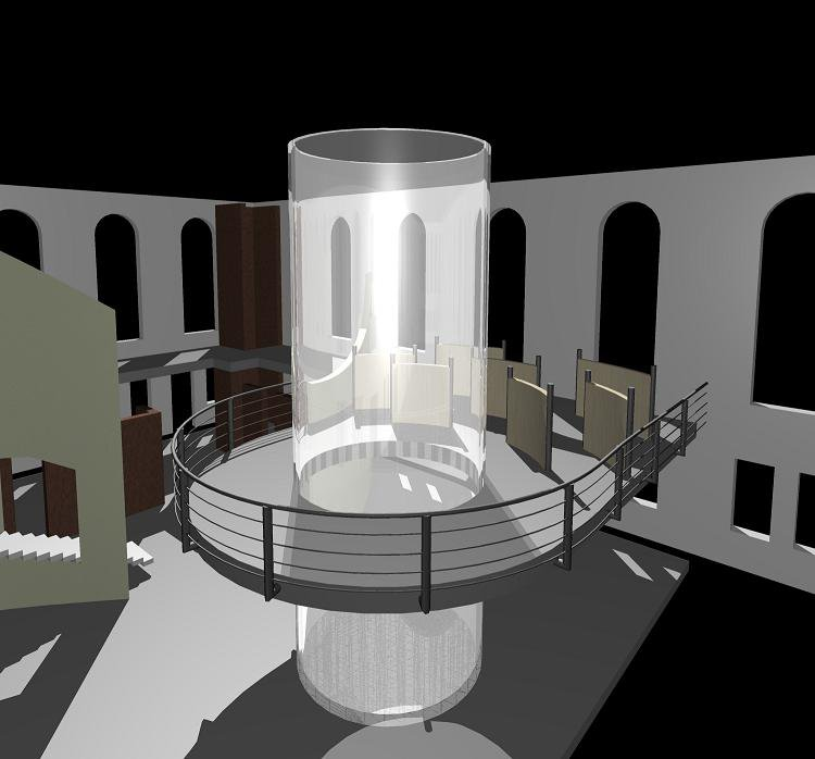 Part of a museum I'm designing...