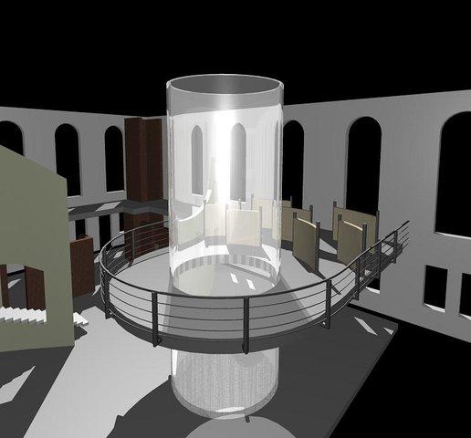Part of a museum I'm designing...
