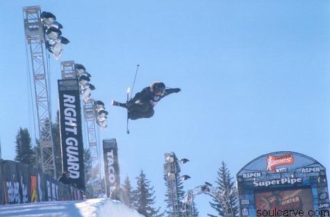 Sarah Burke Winter X Games 2004
