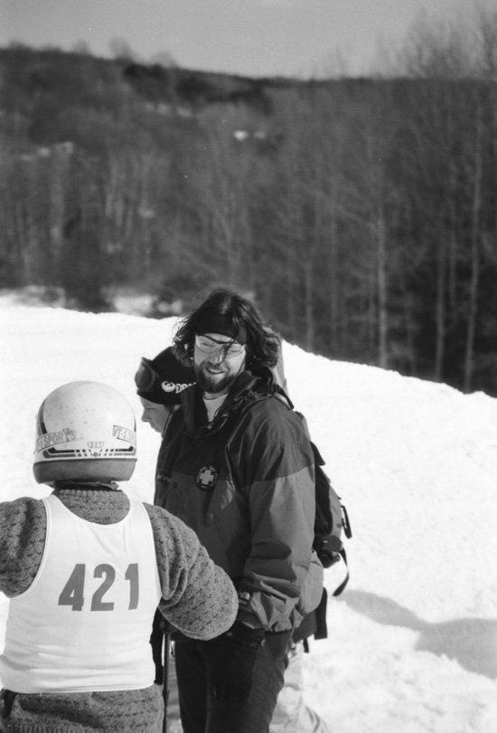 goofy ski patroller