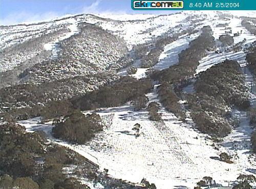 Australia's first good snowfall