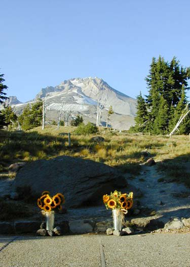 timberline in september at my bro's wedding
